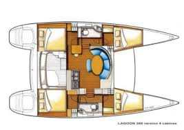 Plan catamaran-Lagoon-380-