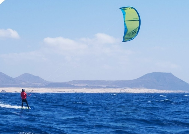 Kitesurf and surf Cruise Canary Islands CBCM Kitesurf