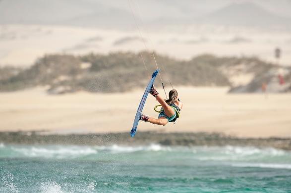Julia Castro Shooting Fuerteventura 2016