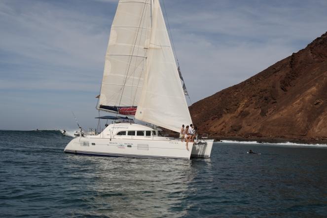 Croisière : Lanzarote / Fuerteventura Kitesurf , Surf, ou stand up Paddle Ph: Mario Entero
