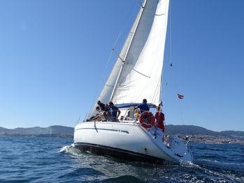 CBCM Sailing School Bavaria 38 Fuerteventura sailing